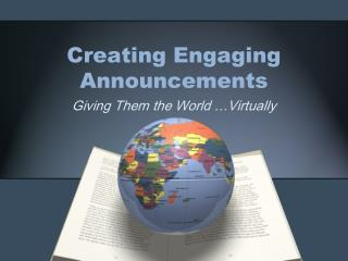 Creating Engaging Announcements