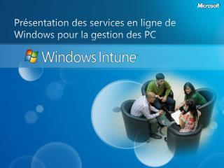 Présentation des services  en ligne de Windows pour  la gestion des PC