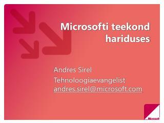 Microsofti teekond hariduses