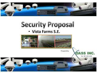 Vista Farms S.E.