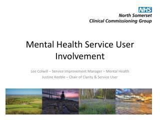 Mental Health Service User Involvement
