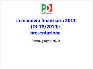 Roma, giugno 2010