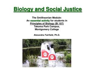 Biology and Social Justice