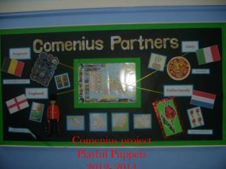 Comenius  project Playful Puppets 2012-2014