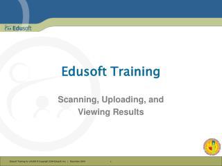 Edusoft Training