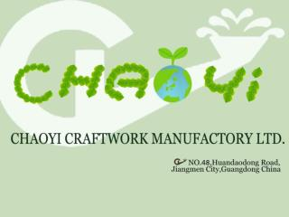 Factory Background .   Was established in 1985 . ISO 9001 registered