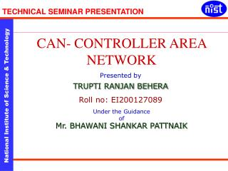 TECHNICAL SEMINAR PRESENTATION