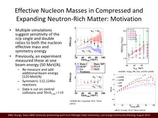 Effective Nucleon Masses in Compressed and Expanding Neutron-Rich Matter: Motivation