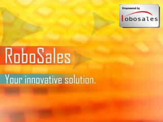 What is RoboSales?