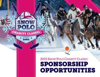 On Saturday, February 14, 2014 in an event unlike any other in Canada,   Snow Polo