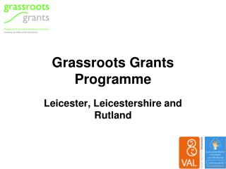 Grassroots Grants Programme