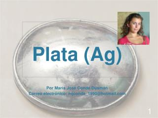 Plata (Ag)