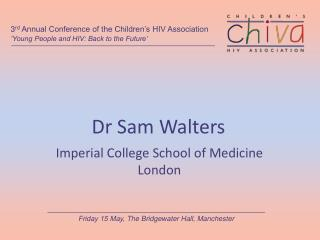 Dr Sam Walters