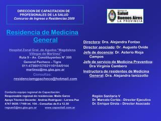 Residencia de Medicina General
