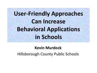 Kevin Murdock  Hillsborough County Public Schools