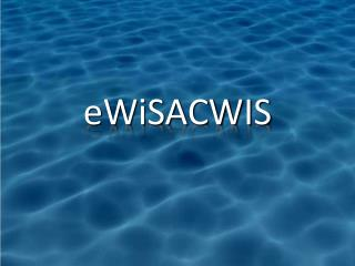 eWiSACWIS