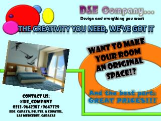 want to make your room an  original space!?