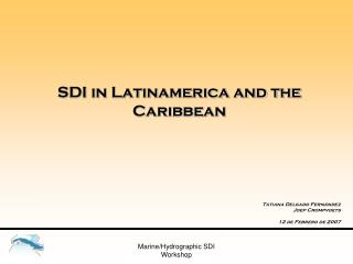 SDI in Latinamerica and the Caribbean