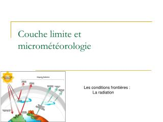 Couche limite et microm�t�orologie