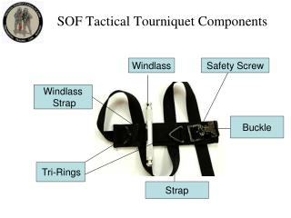 SOF Tactical Tourniquet Components
