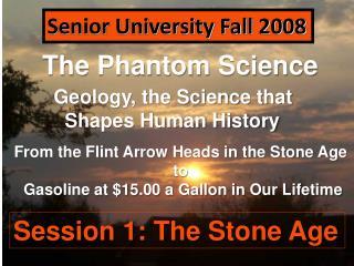 The Phantom Science