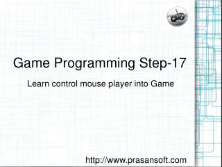 Game Programming Step-17