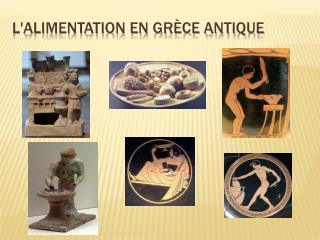 Lalimentation en Gr ce antique