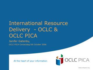 International Resource Sharing IBL