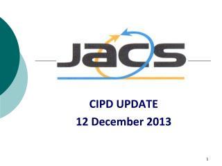 CIPD UPDATE  12 December 2013