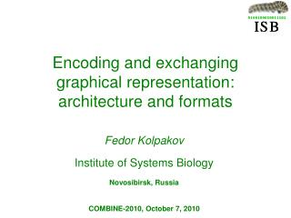 Encoding and exchanging graphical representation: architecture and formats