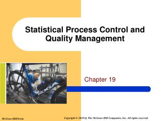 Statistical Process Control and Quality Management