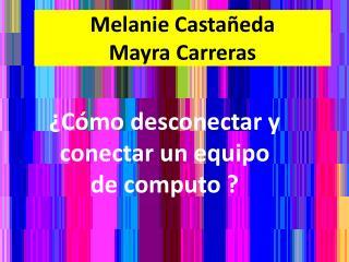 Melanie Castañeda Mayra Carreras