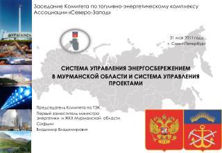 31 мая 2011 года  г. Санкт-Петербург