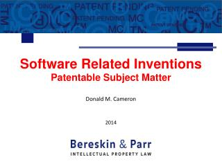 Patents for Software  Business Methods
