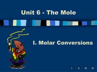 Molar Conversions