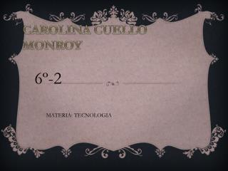 CAROLINA CUELLO MONROY
