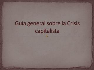 La crisis hipotecaria se contagió al sistema financiero, dando lugar a problemas de liquidez.