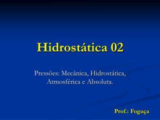 Hidrostática 02