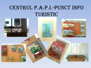 CENTRUL P.A.P.I.-PUNCT INFO TURISTIC