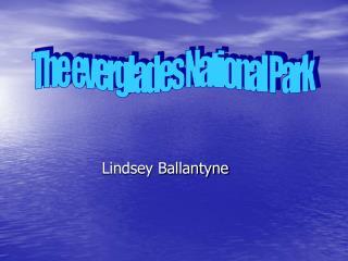 Lindsey Ballantyne