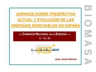 JORNADA SOBRE PRESPECTIVA ACTUAL Y EVOLUCIÓN DE LAS ENERGÍAS RENOVABLES EN ESPAÑA
