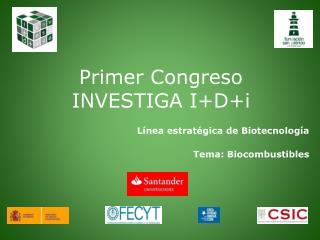 Primer Congreso INVESTIGA I+D+i