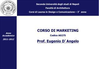 Seconda Università degli studi di Napoli Facoltà di Architettura
