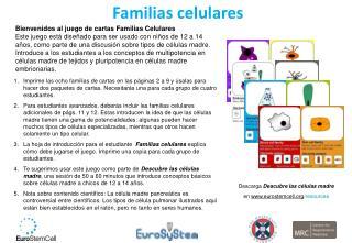 Familias celulares
