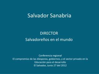 Salvador Sanabria