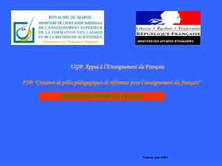 MINIST�RE DES AFFAIRES �TRANG�RES