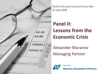 Panel II: Lessons from the Economic Crisis