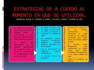 ESTRATEGIAS MOMENT NC