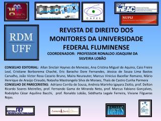 REVISTA DE DIREITO DOS MONITORES DA UNIVERSIDADE FEDERAL FLUMINENSE
