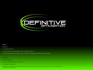 Definitive [ dih - fin -i- tiv ] 1. most reliable or complete.